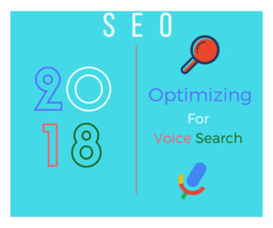 SEO 2018 Optimizing for voice search